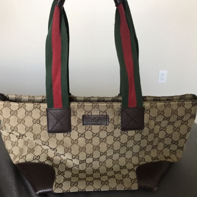 Gucci Canvas Tote