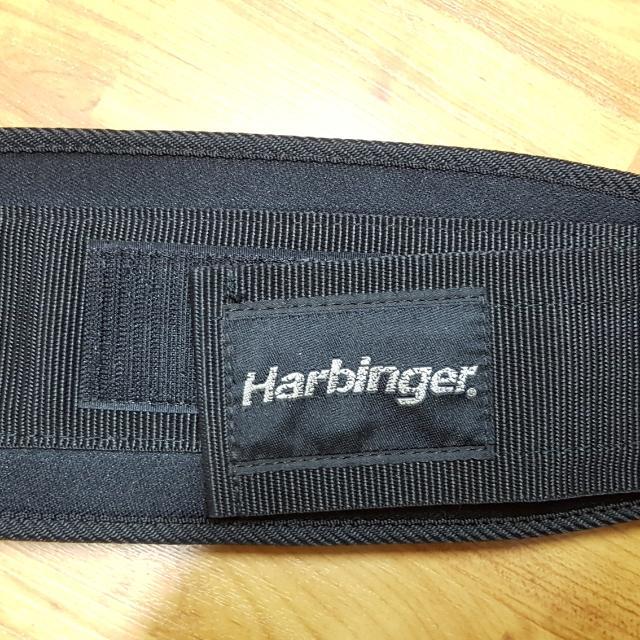 Harbinger small velcro weight belt