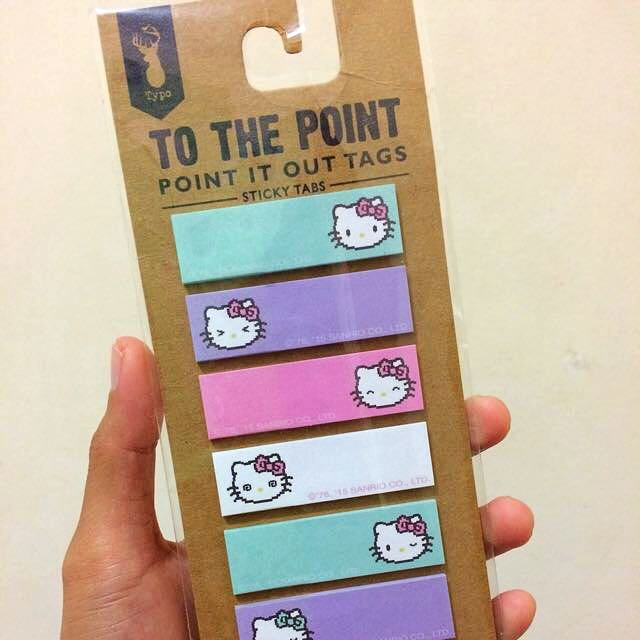 Hello Kitty Sticky Tabs