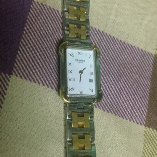 Hermes Clipper Watch Ladies
