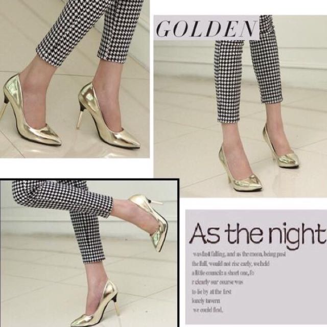 High Heels Gold Import