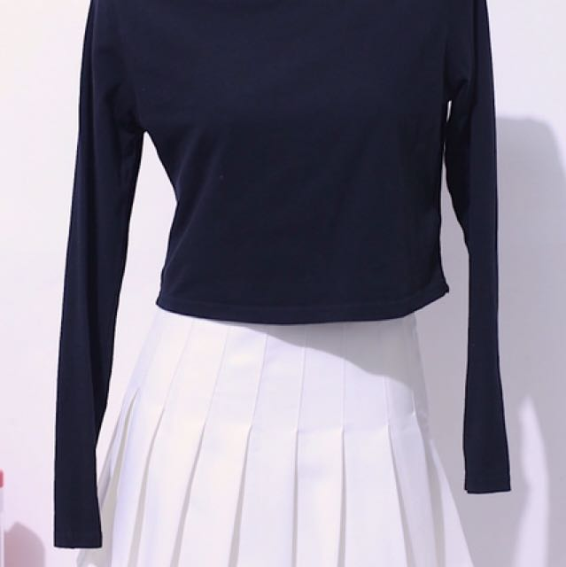 H&M Cropped Long Sleeves