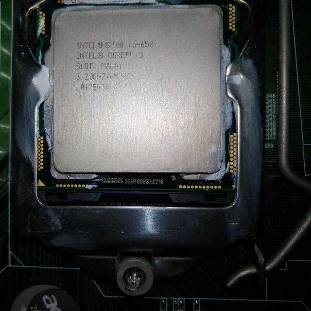i5-650 3.2Ghz 四核 1156
