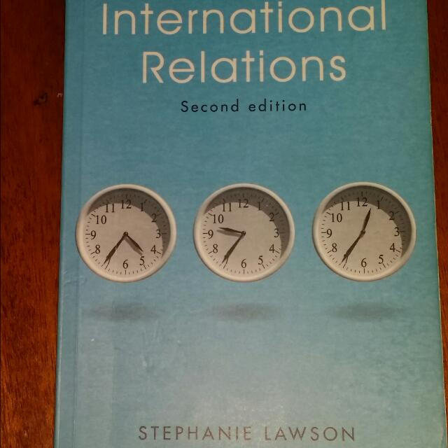 International Relations-Stephanie Lawson