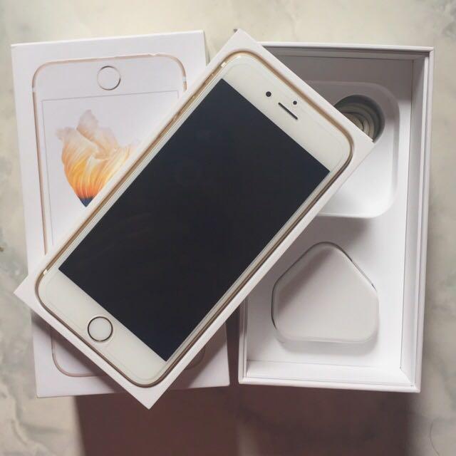 iPhone 6s 16 gb Gold Mulus