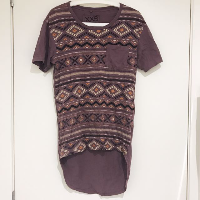 JAY JAYS Purple Aztec Tshirt