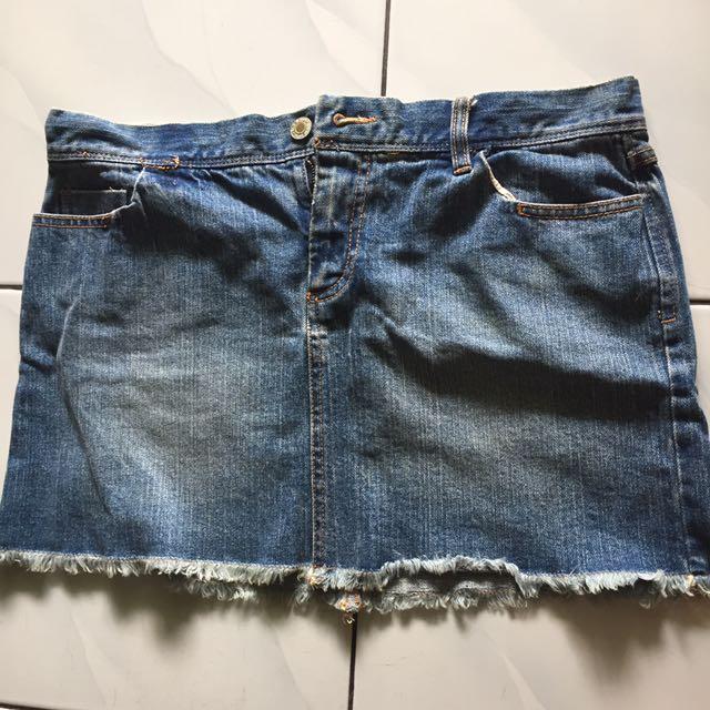 jeans skirt oldnavy