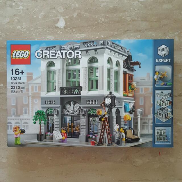 LEGO 10251 Brick Bank BARU SEGEL ASLI