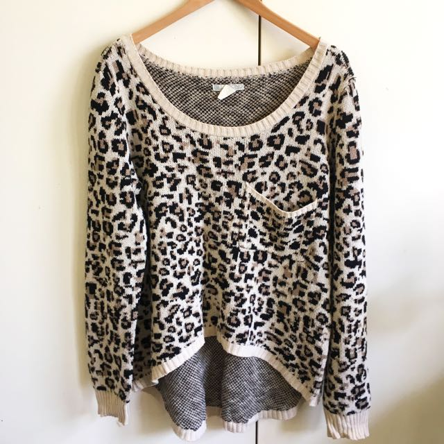 Leopard Pattern Jumper
