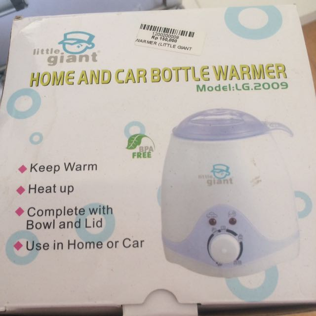 Liitle Giant Bottle Warmer