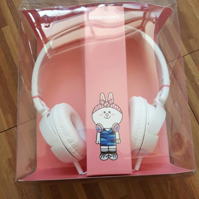 Line 兔兔版 頭戴式耳機