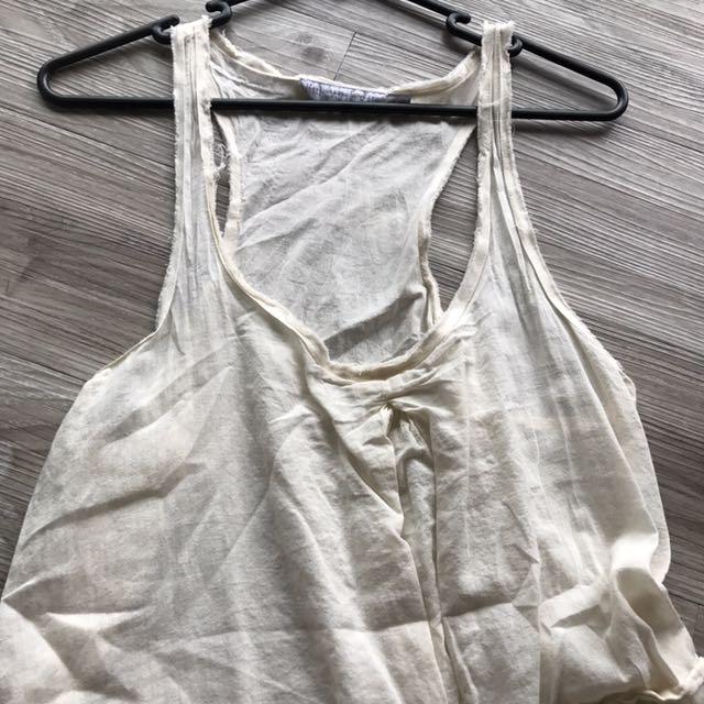Little White Lie Beach Dress