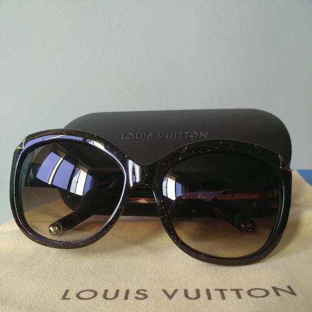 16cb34ec3e57 Louis Vuitton Brown Speckling Hortensia Sunglass (Ladies)