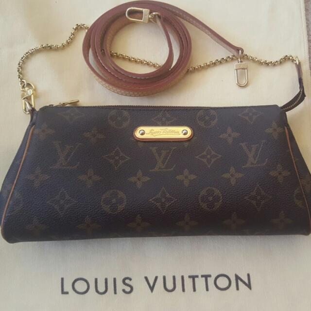 Authentic Louis Vuitton Eva Monogram Bag