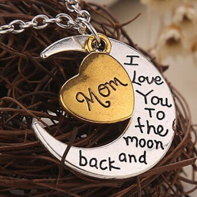 Love You To The Moon And Back Necklaces