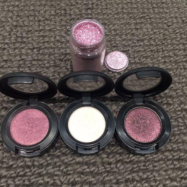 MAC Pigment & 3 Eyeshadows