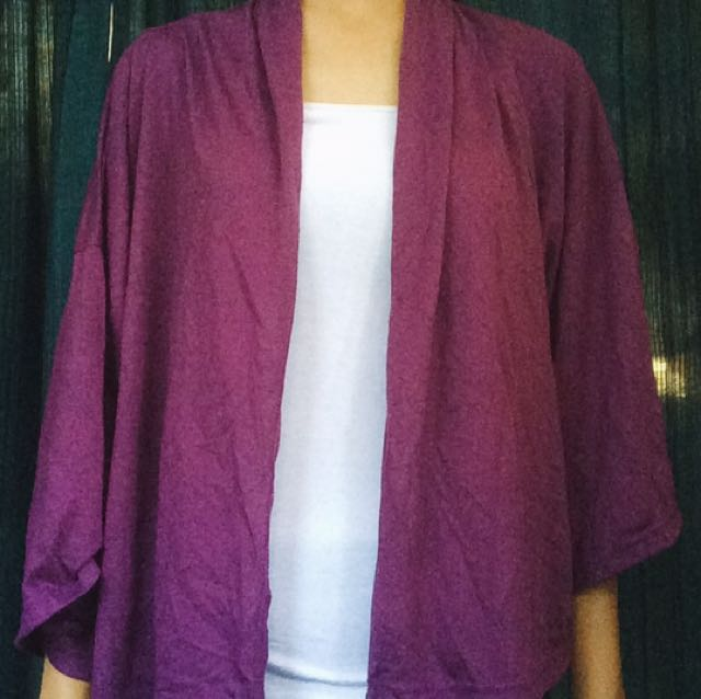 Magnolia Purple Cardigan
