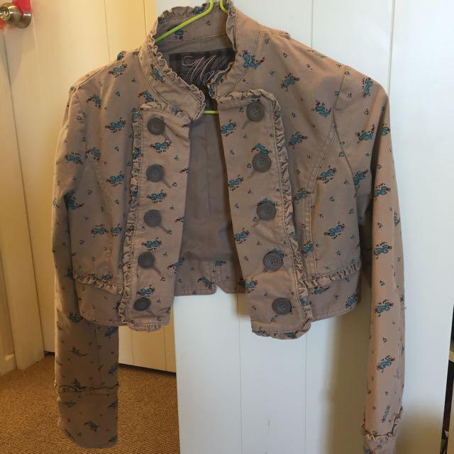 Mango Cropped Jacket