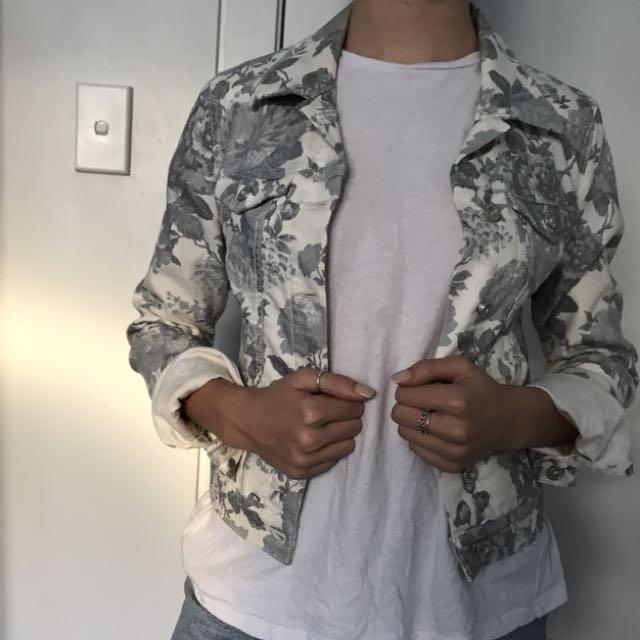 Mavi Cropped Denim Jacket