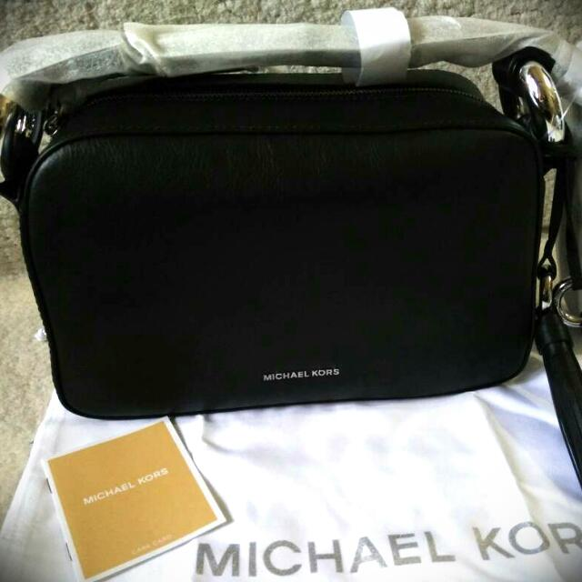 Michael Kors Grand medium leather cross-body bag