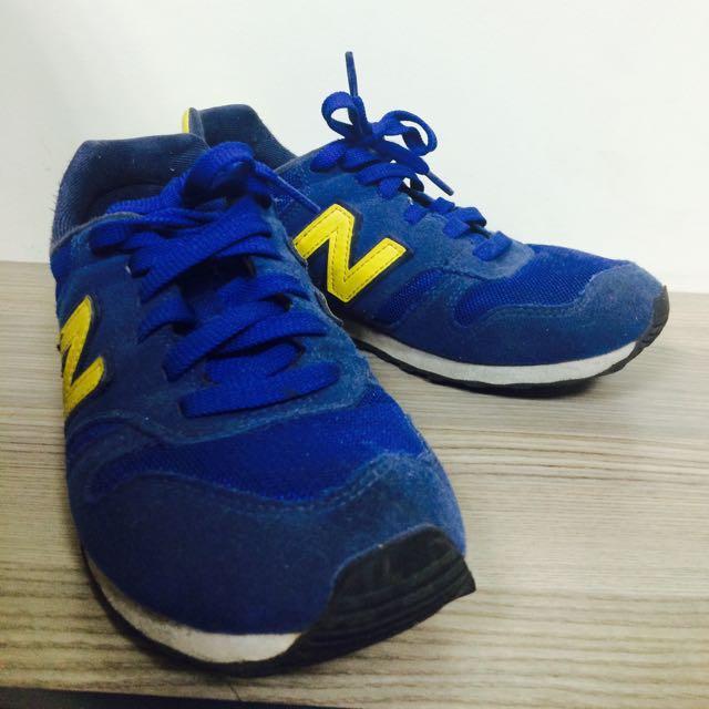 New Balance 373 藍黃配色#五百元好女鞋