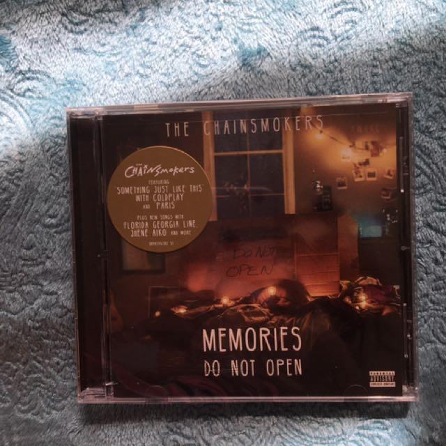 New Chainsmokers CD
