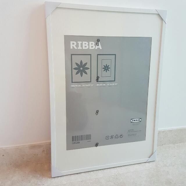 New Ikea Ribba Frame