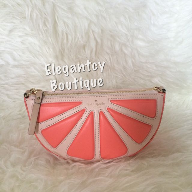 NEW! Kate Spade Grapefruit Crossbody