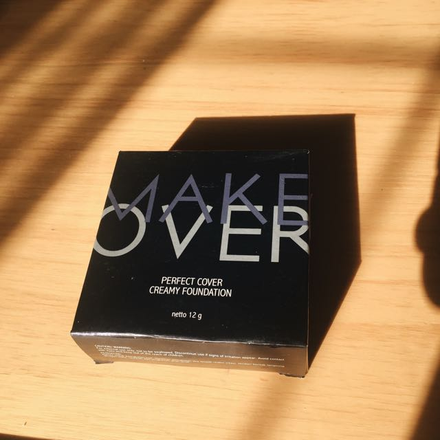 NEW Make Over Perfect Cover Creamy Foundation