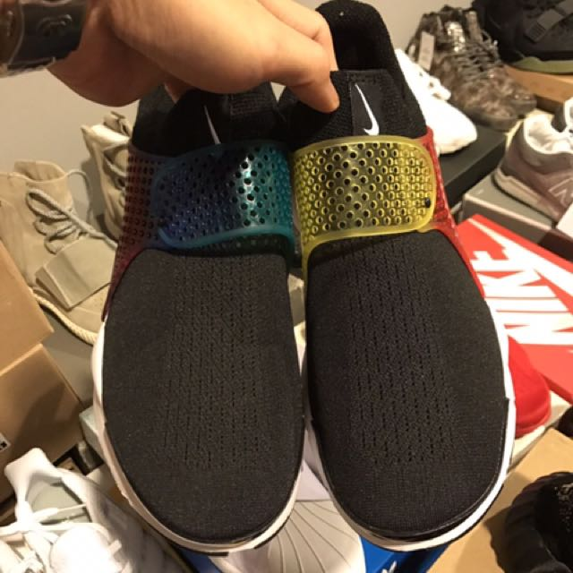 Nike 襪套系列 彩虹 男女都有