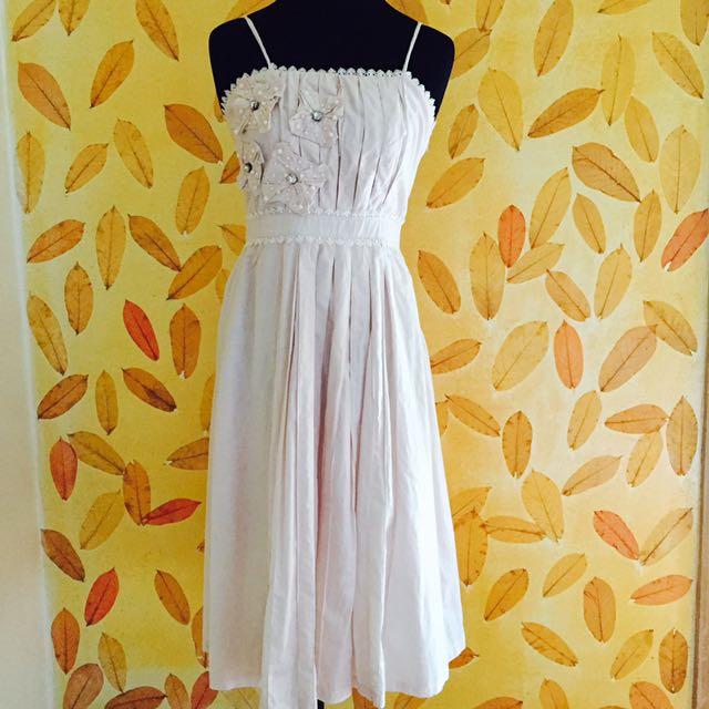 Off-white Long Dress