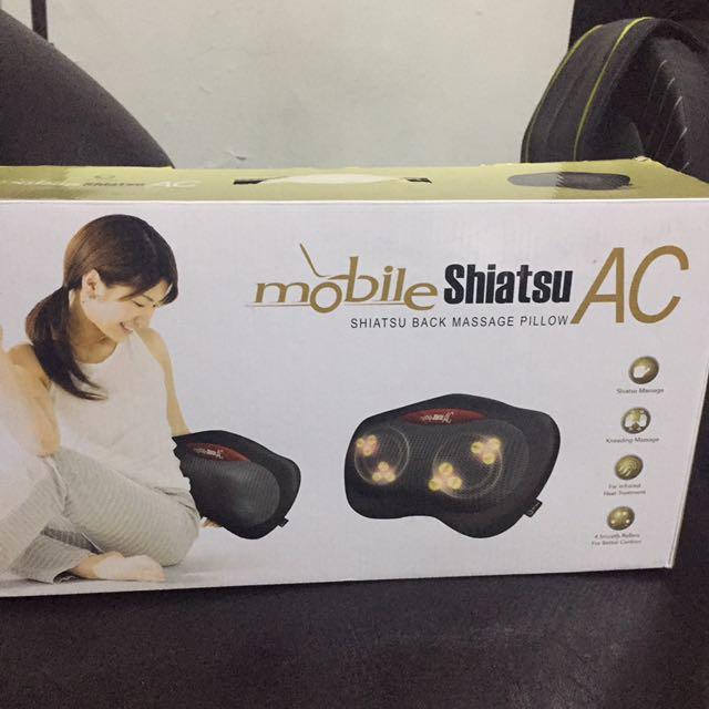 Ogawa massager (shiatsu Back Massage Pillow)
