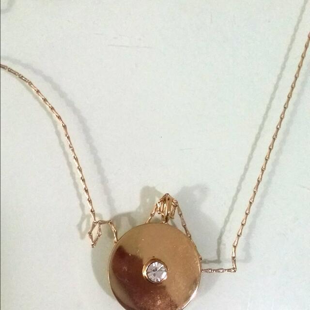 Orig Kate Spade Gold Necklace