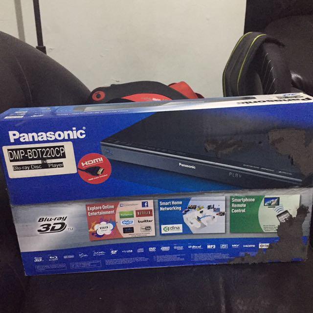 Panasonic blu-ray 3D