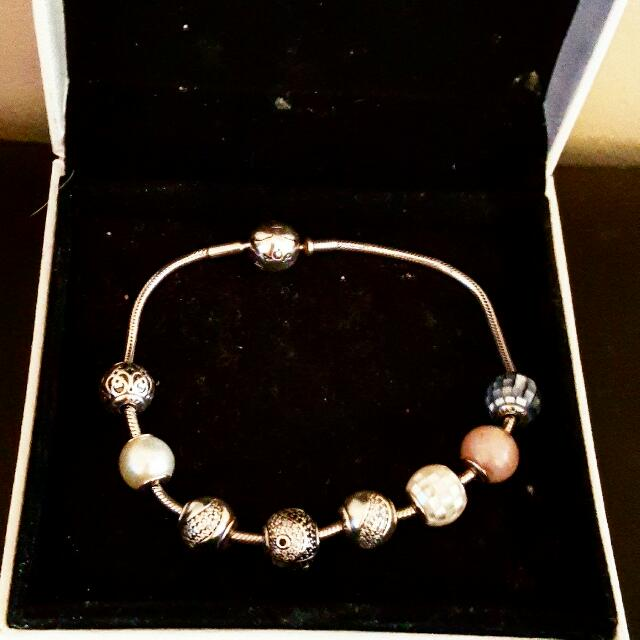 PANDORA ESSENCE BRACELETS AND BNIB CHARMS