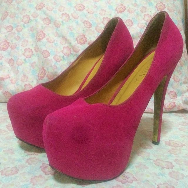 Parisian Fuchsia Pumps
