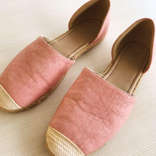 Parisian Salmon Pink Sandals