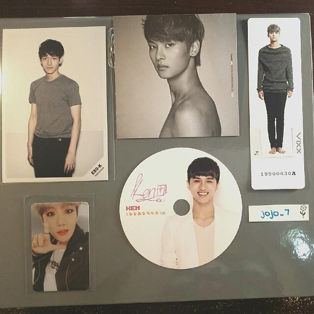 Photocards - EXO & VIXX