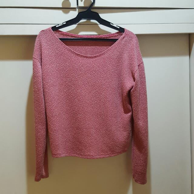 Pink Longsleeved Top