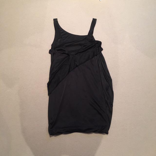 PINKO Drape Mini Black Dress #EOFYSALE