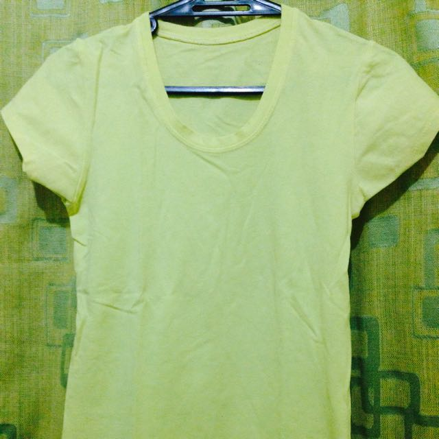 Plain shirt stretchable