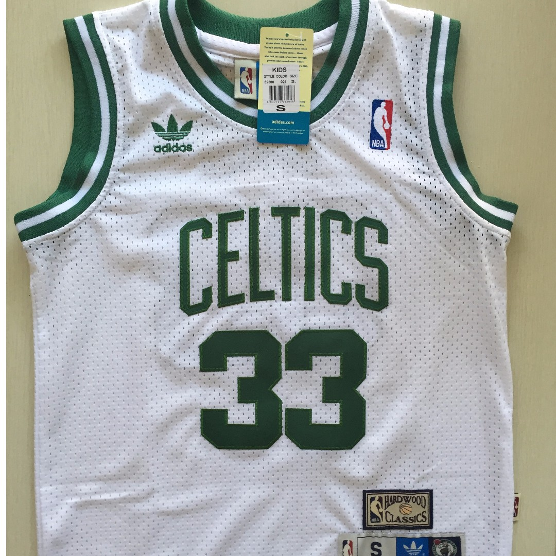 fb9a9059d32 PO] NBA Kids Boston Celtics Larry Bird Swingman Jersey, Sports ...