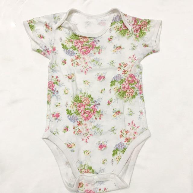 Jumper Baby Bodysuit Floral