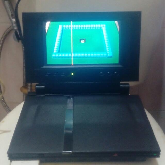 Ps2主機+螢幕