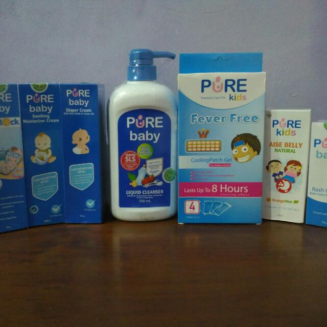 PURE BABY complete set