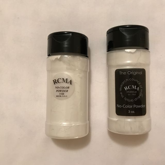 (1 LEFT) RCMA No Color Translucent Powder