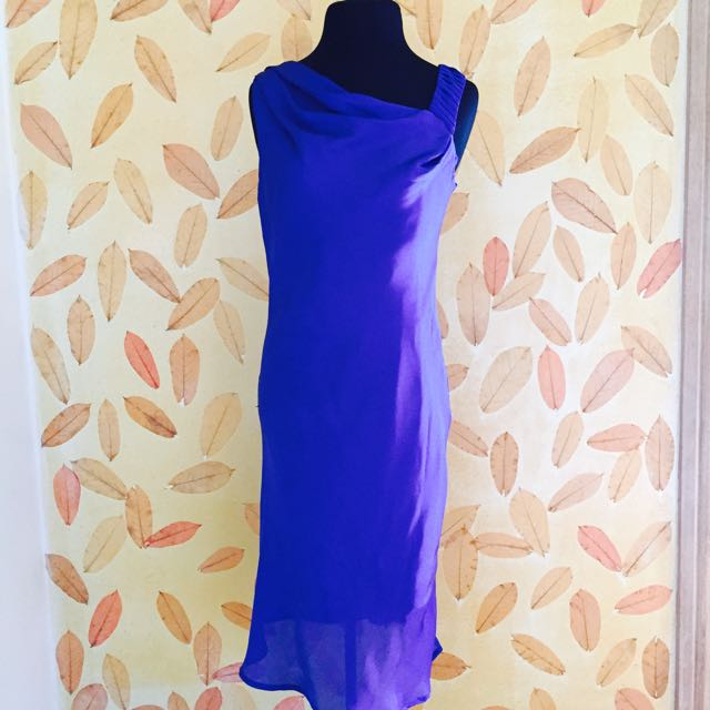 Reneé Salud Royal Blue Cocktail Dress