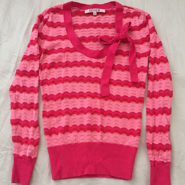 Review Long Sleeve Knit Top