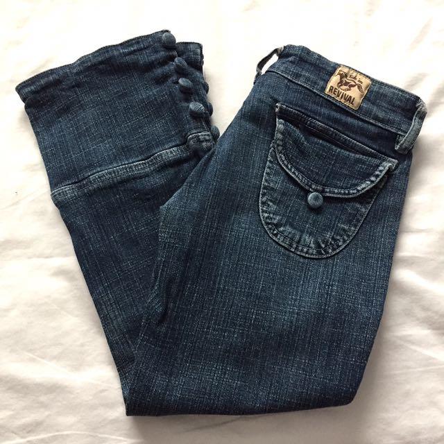 Revival 3/4 Denim Jeans
