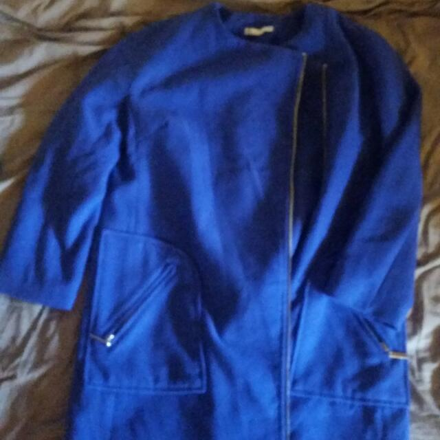 royal blue coat sze 8